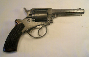 Click to enlarge a  .38 rimfire five shot Tranter revolver