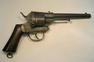 Click to enlarge a closed frame 12mm. Continental pinfire revolver